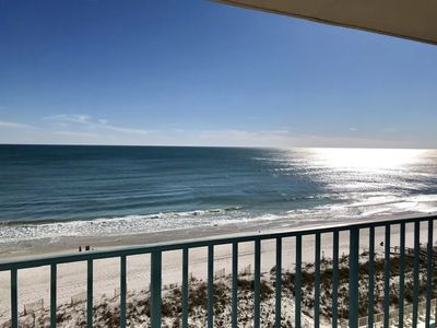 Photo for Gulf Front 3BD/3BA Corner Unit - Amazing Views with Steps to Beach