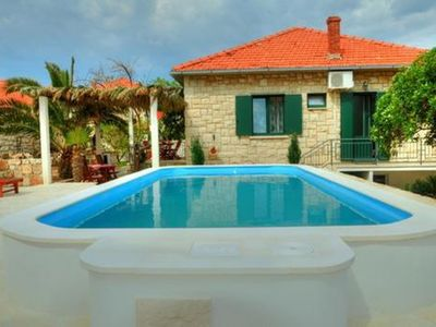 Photo for Holiday house 2257   - Postira, Island Brac, Croatia