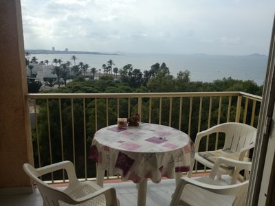 Photo for Bright apartment with sea views. All furnished, in a quiet area