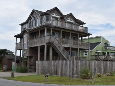 Photo for Semi-Oceanfront, 5 BRs 5 1/2 Baths, Dog Friendly, Pool, Hot Tub, Game Room
