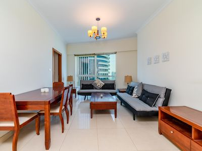 Photo for Stunning 1 Bedroom Apartment in JLT near Metro.