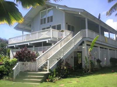 Enjoy The Relaxed Feel Of  Secluded Hawaiiana Style Living
