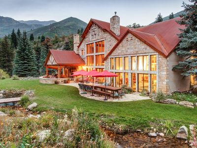 Photo for Stunning 7BR Estate w/ Indoor Pool, Hot Tub & Racquetball - Near Ski Slopes