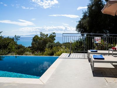 Photo for Kefalonia Beach Cottage with Private Pool