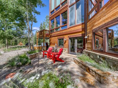 Photo for Riverside luxury home w/ private hot tub, outdoor living & gourmet kitchen