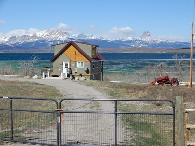 Photo for Duck Lake Loft! Waterfront Home. Close to all that Glacier Park has to offer.