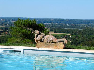 Photo for Sauvignon charming cottage with views. Close to Bergerac and its airport