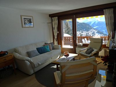 Photo for BONNE FRANQUETTE Verbier: Flat 2 rooms*** comfortable rent OWNER direct