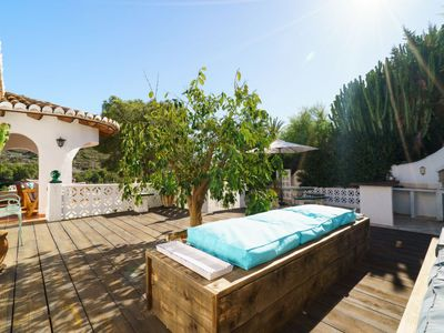 Photo for Vacation home Villa Romantica in Moraira - 8 persons, 3 bedrooms