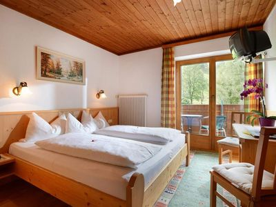 Photo for Double room without board, shower / WC, balcony - Haus Franzl