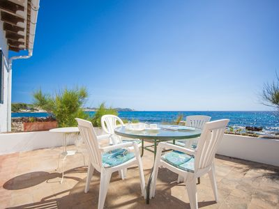 Photo for OBLADES  - Chalet with sea views in Es Carregador.