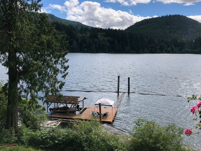 Photo for Beautiful Lakefront Private Suite on Lake Cowichan - Sleeps 5