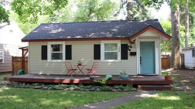 Photo for Downtown  Sanders Beach Cottage Just Steps From The Lake And Tubbs Hill