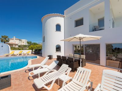 Photo for Stunning villa with Private heated Pool and Gardens