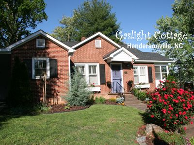 Photo for GASLIGHT COTTAGE  - Downtown Hendersonville