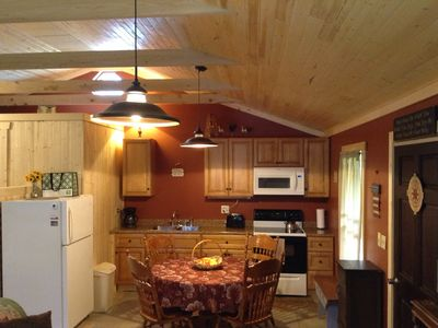 Photo for Fern Creek Cabins @ New River Gorge White Water Hiking Hot Tub Newly Remodeled
