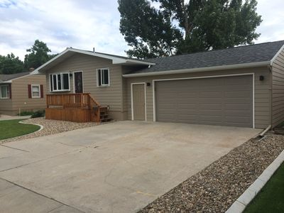 Photo for Nice 4 bedroom home in Rapid City for 2020 Sturgis Rally. Great location!!!