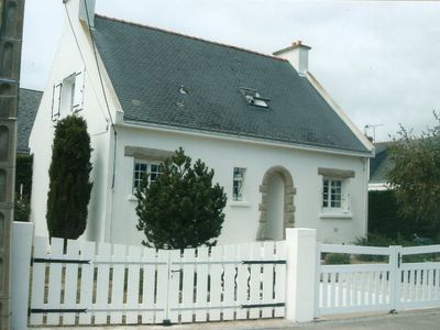 Photo for At 150 meters from the beach at the tip of gavres house 8 people 4 bedrooms