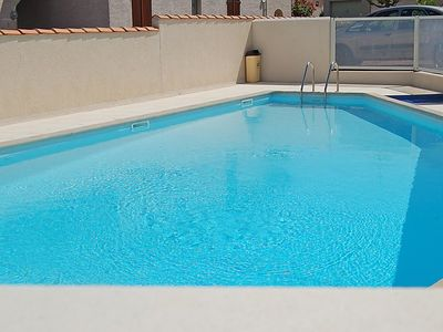 Photo for 2 bedroom Villa, sleeps 4 in Saint-Palais-sur-Mer with Pool and WiFi