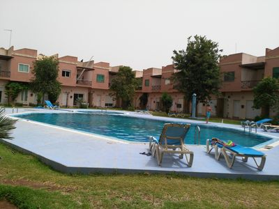Photo for Your holidays in a duplex in a residence with swimming pool