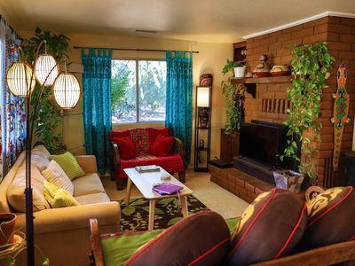 Photo for Historic UpTown Sedona - 3 BR 2 BTH Bohemian Style Home - Retreat-2 Min Walk