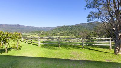 View of Foxground Valley from front verandah