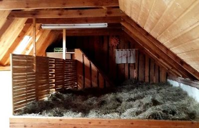 Photo for Sleeping on straw / hay bed - Ferienhof Sarodnick