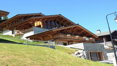 Photo for MAGNIFICENT LUXURY APARTMENT 8 PERSONS - LES GETS - CHOULOU CHALET