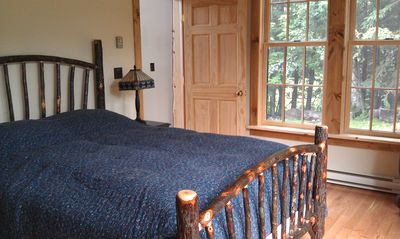 3rd Downstairs Bedroom - Queen size bed with in-suite bath.