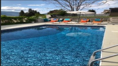 Photo for Penticton Grape Escape 4 bedrooms with 7 beds, 3 Bath w/Pool great views