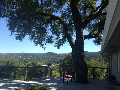Photo for Lovely view home above Cloverdale in Sonoma Wine Country