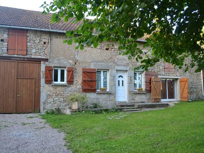 Photo for Cottage in the Morvan Regional Park on the hiking path GR 13