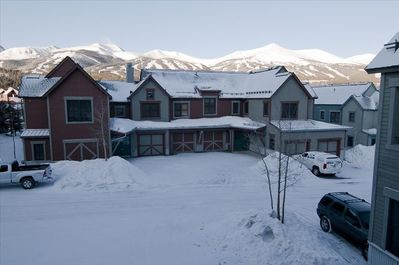 View of Breckenridge Ski Mountain from the Unit.