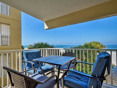 Photo for Indian Shores Condo w/Balcony & Pool on the Beach!