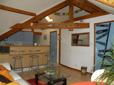 Photo for Charming apartment, city center, near lake