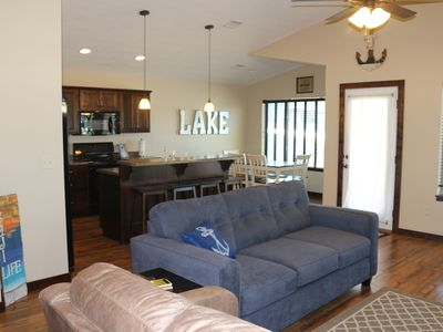 Photo for Beautiful Okoboji Vacation Home at Bridges Bay with LOTS of amenities, NO stairs