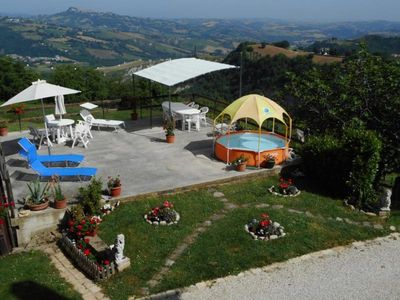 Photo for Holiday house Santa Vittoria in Matenano for 8 persons with 3 bedrooms - Holiday house