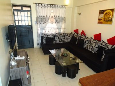 Photo for Stunning apartment opposite the Nairobi National Museum with a view of the CBD.