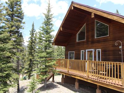 "Photo for Special rate, New Listing! ""Million Dollar View"" Charming River View Cabin!"