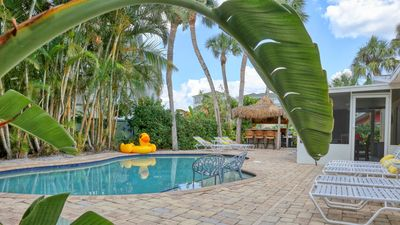 LARGE GROUND LEVEL HOME **NEWLY RENOVATED** HEATED POOL