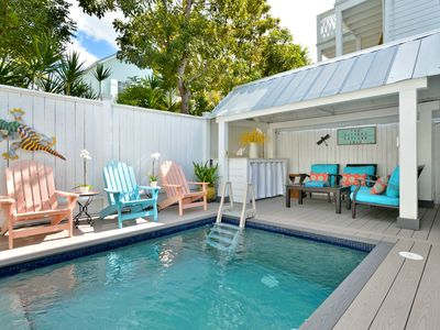 Photo for ~ POTTERS COTTAGE ~ Perfect Key West Home, Private Pool, 1 block to Duval St