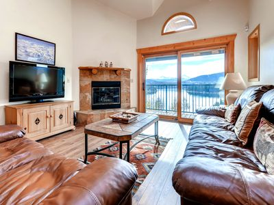 Photo for Beautiful Vacation Condo at Lake Forest with Views of Dillon Reservoir