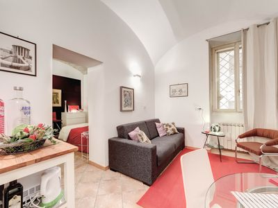 Photo for Trastevere Chocolate Suite apartment in Trastevere with WiFi & air conditioning.