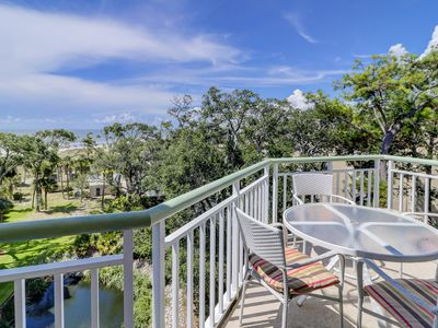 Photo for Waterfront penthouse villa w/ shared pool, hot tub, & fantastic ocean views!