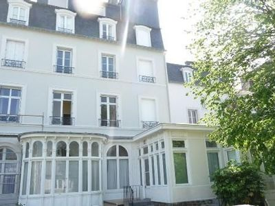 Photo for Charming apartment, quiet, nice view with sea view, hyper center Dinard