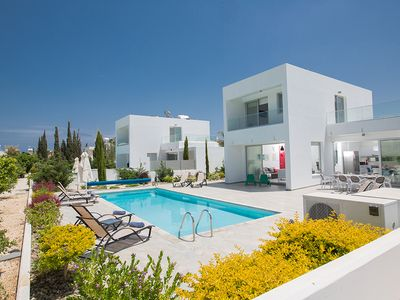 Photo for Villa Kody, Beautiful 5BDR Protaras Villa,Walking Distance to Fig Tree Bay Beach