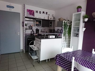 Photo for Rental pleasant, comfortable, 300 m from the beach