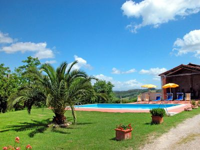 Photo for Beautiful private villa for 4 people with pool, TV, pets allowed and parking