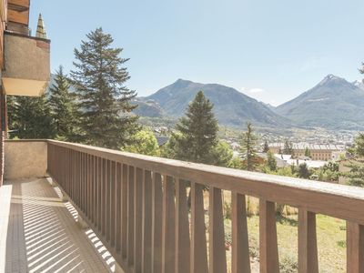 Photo for South-facing apartment with magnificent views across the valley
