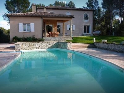 Photo for VILLA WITH GARDEN AND CLOSED SWIMMING POOL